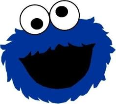 Printable Face Templates Stunning Cookie Monster Face Cut Out Zim Pinterest Cookie Monster Party