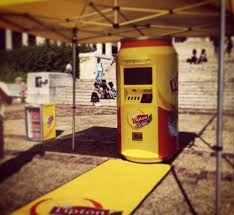 Lipton Tea Vending Machine Gorgeous Look What We're Stretching On Upper Campus At University Of Cape