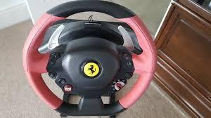 Thrustmaster tx ferrari 458 italia yarış direksiyonu for xbox one. Super Car Thrustmaster Ferrari 458 Spider Racing Wheel For Xbox One Stand