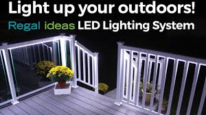 led deck rail lights. Light Up Your Outdoors With Regal Ideas LED Lighting System! Led Deck Rail Lights