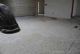 diamond grinding terrazzo floor