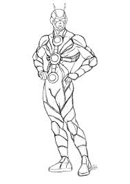 Small Picture Ant Man Coloring For Ant Man Coloring Pages esonme