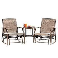 tete a tete glider outdoor furniture