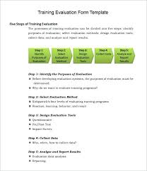 Training Feedback Report Course Evaluation Template – Bbfinancials.info