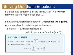 objectives solving linear equations