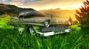 ford ranchero retro crystal nature car