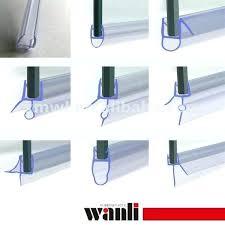 remarkable rubber strip for glass shower door unusual bathroom glass door seal gallery the best bathroom
