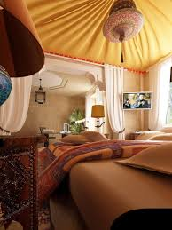 Drop Dead Gorgeous Pictures Of Moroccan Themed Bedroom Design And Decoration  : Attractive Picture Of Moroccan