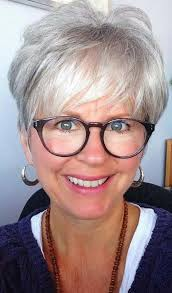 short haircuts for women over 60 with gles
