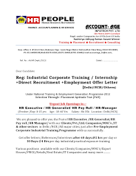 Offer Letter Sample   Joining Letter Format   Job Offer Letter     Site Planner Offer Letter Sample Free Example   Doc Format For Building And  Writing Guide