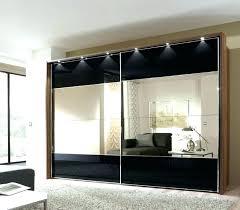 wardrobe with mirror doors sliding