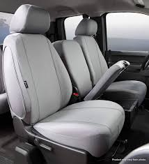 The Ultimate Seat Designs Custom Seat Covers Fia Sp87 35 Gray Custom Fit Front Seat Cover Split Seat 40 20 40 Poly Cotton Gray