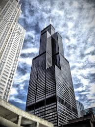 willis tower is 108 story skyser visit the skydeck on the 103 floor and stand on