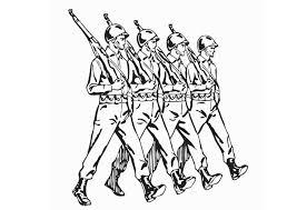 Kleurplaat Soldaten Afb 12907 Images