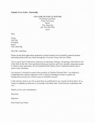 Internship Cover Letter Examples Accounting Cover Letter Internship ...