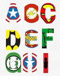I just try to cut the letters to print different color. Alphabet Block Letter Coloring Pages Coloring Pages Superhero Alphabet Printables Free Clipart 101588 Pinclipart