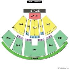 First Niagara Pavilion Seating Chart 71 Skillful Bb T Pavilion Seat Chart