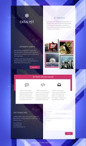 html5 css website templates catalyst