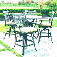 pub height patio table bar height patio dining set bar height patio table set bar height