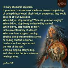 a shaman is a person who