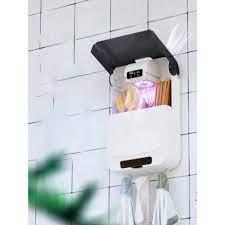 Máy Sấy Và Khử Khuẩn Đũa Thìa Hộp Sấy Chống Ẩm Công Nghệ Tiệt Trùng Bằng  Tia UV Treo Tường Tiện Lợi - Bảo h - Đồ dùng nhà bếp khác Thương