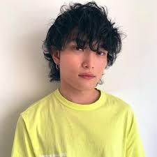 ソフトマッシュウルフ メンズヘアスタイル髪型 Hair Me Up