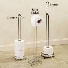 flipper toilet paper holder floor stand