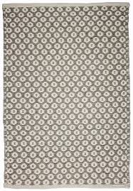 perth grey natural wool woven rug