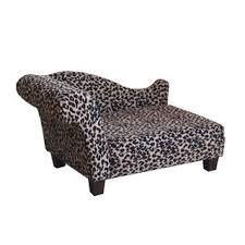 fancy pet furniture. luxury pet bed leopard chenille fancy furniture o
