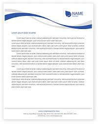 Letterhead Design In Word Airplane Letterhead Templates In Microsoft Word Adobe