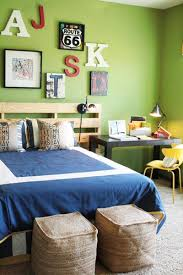 blue and green bedroom. Your Toddler Will Be Able To Easily Practice Their ABCs In This Bedroom, Featuring Letter Wall Decorations And An Alphabet Pillow. Blue Green Bedroom