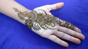 Palm Mehndi Designs Easy Simple Mehndi Design For Palm 2018 Step By Step Tutorial