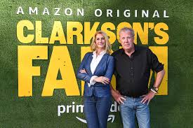 Jeremy clarkson's swapping fast cars for tractors, putting on his wellies, and getting well and truly stuck in to running his own farm. Uc9sij I N8rcm