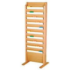 Free Standing 10 Pocket Legal Size Chart Rack Model Et Ch17 Fs
