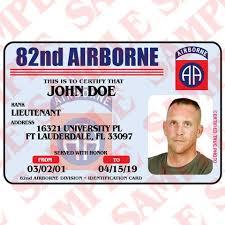 Maxarmory – Id Card Airborne 82nd
