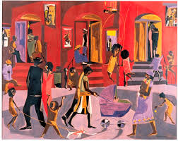 painted a lot of everyday scenes in harlem he also focused on