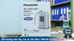 Đập hộp máy lọc nước điện giải Panasonic TK-AS45 siêu hot hiện nay