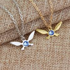 details about new legend of zelda erfly pendant charm gold silver necklace chain jewelry