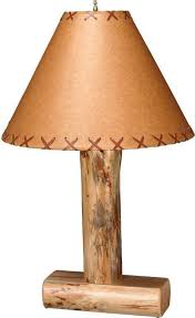 rustic table lamp with birds rustic lodge pole pine lamp on philosophical rat rustic table lamp
