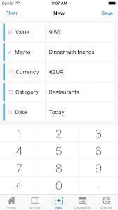 Nomad Budget Travel Budget App Trip Expense Tracker