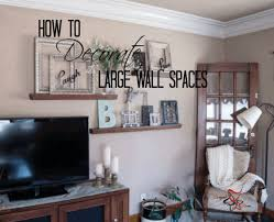 How to decorate wall of goodly ideas about decorating large walls on simple