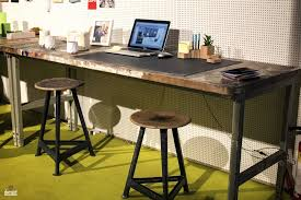 work desks for home office. Industrial Home Office Desk In Wood And Metal Work Desks For Home Office R