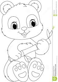 Small Picture Coloring Pages Draw A Panda Bear Es Coloring Pages