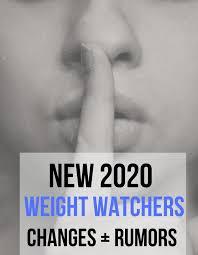 Weight Watchers Points Plus Range Chart New Weight Watchers Changes 2020 Updated Recipe Diaries