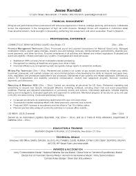 Example Of Military Resume Military Resume Examples Military Resume
