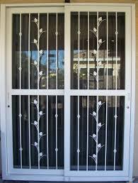 security sliding screen doors