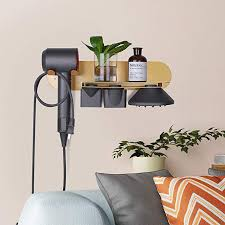 fle hair dryer holder wall mounted with