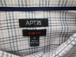 Apt 9 Mens Dress Shirt Size Chart Toffee Art