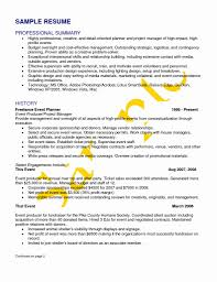 Cover Letter Sample Resume Objectives Event Coordinator New Event