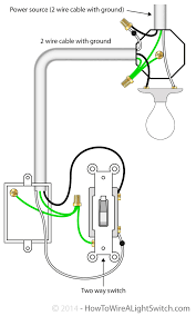 wiring diagram for light fixture and switch wirdig power feed via light how to wire a light switch